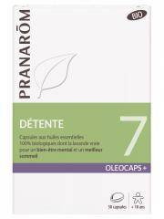 Pranarôm Oléocaps+ 7 Détente Bio 30 Capsules - Boîte 30 Capsules