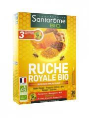 Santarome Bio Ruche Royale Bio 20 Ampoules - Boîte 20 ampoules x 10 ml