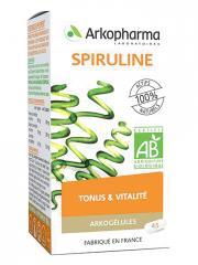 Arkopharma Arkogélules Spiruline Bio 45 Gélules - Boîte 45 gélules