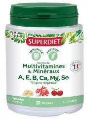 Super Diet Multivitamines Minéraux 150 Gélules - Boîte 150 Gélules