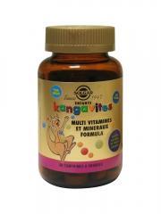 Solgar Kangavites Arômes Fruits Rouges 60 Comprimés à Croquer - Flacon 60 Comprimés
