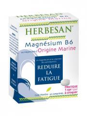 Herbesan Magnésium B6 Origine Marine 30 Comprimés - Boîte 30 comprimés