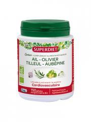 Super Diet Quatuor Ail Cardio-vasculaire Bio 150 Gélules - Boîte plastique 150 gélules