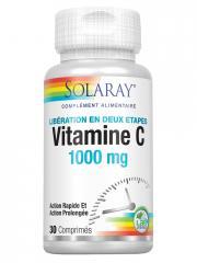 Solaray Vitamine C 1000 mg 30 Comprimés - Boîte 30 comprimés