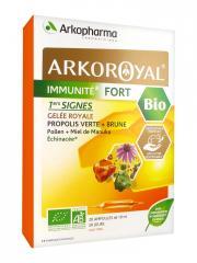 Arkopharma Arko Royal Immunité Fort 1ers Signes Bio 20 Ampoules - Boîte 20 Ampoules x 10 ml