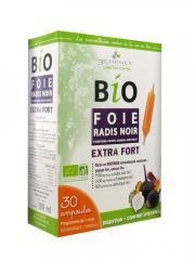 Les 3 Chênes Bio Foie Radis Noir 30 Ampoules - Boîte 30 ampoules