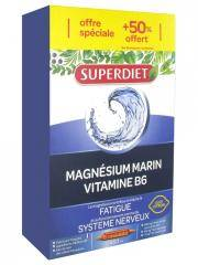 Super Diet Magnésium Marin + Vitamine B6 20 Ampoules + 10 Ampoules Offertes - Boîte 30 ampoules