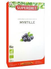 Super Diet Myrtille Bio 20 Ampoules - Boîte 20 ampoules de 15 ml