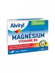 Alvityl Magnésium Vitamine B6 45 Comprimés - Boîte 45 comprimés