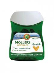 Möller's Omega-3 Double 60 Capsules - Boîte 60 Capsules