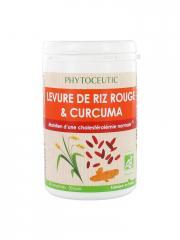Phytoceutic Levure de Riz Rouge et Curcuma 60 Comprimés - Boîte 60 Comprimés