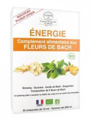 Elixirs & Co Complément Alimentaire aux Fleurs de Bach Energie Bio 20 Ampoules - Boîte 20 ampoules de 10 ml
