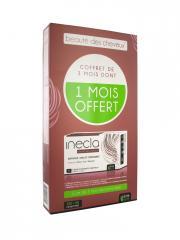 Santé Verte Inecla Beauté des Cheveux Coffret 3 Mois 120 Comprimés + 60 Comprimés Offerts - Boîte 180 Comprimés
