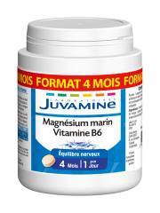 Juvamine Magnésium Marin Vitamine B6 120 Comprimés - Boîte 120 Comprimés