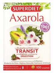 Super Diet Axarola Transit 100 Comprimés - Boîte plastique 100 comprimés