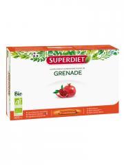 Super Diet Grenade Bio 20 Ampoules - Boîte + Flacon-Pompe 20 ampoules de 15 ml