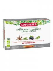 Super Diet Quatuor Prêle Articulations Bio 20 Ampoules - Boîte 20 ampoules de 15 ml