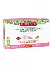 Super Diet Quatuor Reine des Prés Confort Urinaire Bio 20 Ampoules - Boîte 20 ampoules de 15 ml