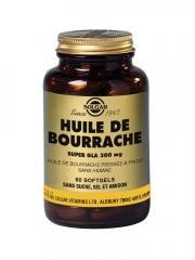 Solgar Huile de Bourrache 60 Gélules - Flacon 60 gélules