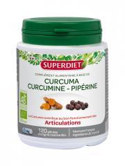 Super Diet Curcuma Pipérine Bio 120 Gélules - Boîte 120 gélules