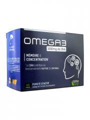 Santé Verte Omega 3 1000 mg de DHA 60 Capsules - Boîte 60 Capsules