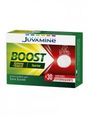 Juvamine Boost Ginseng Taurine 30 Comprimés Effervescents - Boîte 30 comprimés