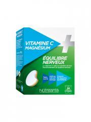 Nutrisanté Vitamine C + Magnésium 24 Comprimés - Boîte 24 comprimés