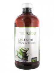 Santé Verte Nectaloe Jus à Boire 473 ml - Bouteille 473 ml