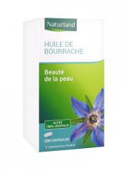 Naturland Huile de Bourrache 200 Capsules - Boîte plastique 200 capsules