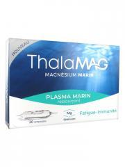 Laboratoires IPRAD Thalamag Plasma Marin Ressourçant 20 Ampoules - Boîte 20 ampoules de 10 ml