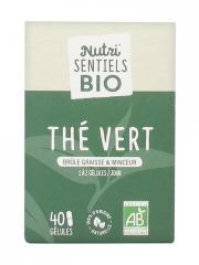 Nutrisanté Nutri'SENTIELS BIO Thé Vert 40 Gélules - Flacon 40 Gélules
