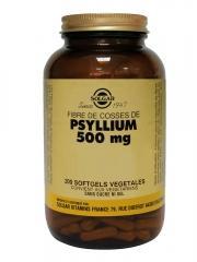 Solgar Psyllium 500 mg 200 Gélules Végétales - Flacon 200 gélules