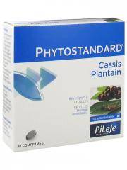 Pileje Phytostandard Cassis Plantain 30 Comprimés - Boîte 30 comprimés
