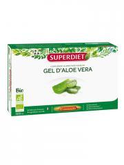 Super Diet Aloe Vera Bio 20 Ampoules - Boîte 20 ampoules de 15 ml