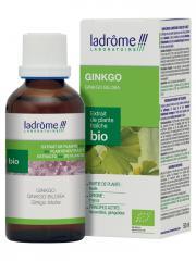 Ladrôme Extrait de Plante Fraîche Bio Ginkgo 50 ml - Flacon 50 ml