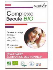 Nutrivie Complexe Beauté Bio 20 Ampoules - Boîte 20 Ampoules de 15 ml