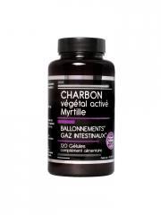 Nutrivie Charbon Végétal Activé Myrtille 120 Gélules - Boîte 120 Gélules