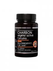 Nutrivie Charbon Végétal Activé Curcuma 60 Gélules - Boîte 60 Gélules