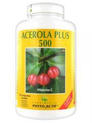 Laboratoire Phyto-Actif Acérola Plus 500 100 Comprimés - Boîte 100 comprimés