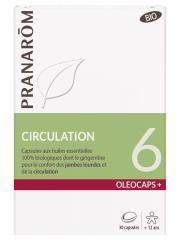 Pranarôm Oléocaps+ 6 Circulation Bio 30 Capsules - Boîte 30 Capsules