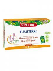 Super Diet Fumeterre Bio 20 Ampoules - Boîte 20 Ampoules de 15 ml