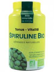 PharmUp Spiruline Bio 300 Comprimés - Boîte 300 comprimés