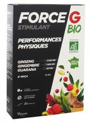 Nutrisanté Force G Stimulant Performances Physiques Bio 20 Ampoules - Boîte 20 ampoules x 10 ml