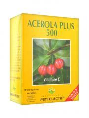 Laboratoire Phyto-Actif Acérola Plus 500 30 Comprimés - Boîte 30 comprimés