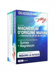 Oligocean Aqua Mag Magnésium d'Origine Marine 80 Gélules - Boîte 80 gélules