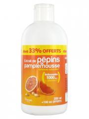 Nutrisanté Extrait de Pépins de Pamplemousse 200 ml + 100 ml Offerts - Flacon 300 ml