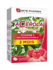 Forté Pharma Energie Acérola 60 Comprimés à Croquer - Boîte 60 comprimés à croquer