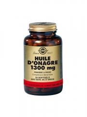 Solgar Huile d'Onagre 1300 mg 30 Gélules - Flacon 30 gélules