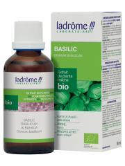 Ladrôme Extrait de Plante Fraîche Bio Basilic 50 ml - Flacon 50 ml