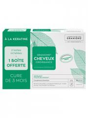 Granions Cheveux Croissance Lot de 2 x 90 Gélules + 90 Gélules Offertes - Boîte 3 x 90 Gélules